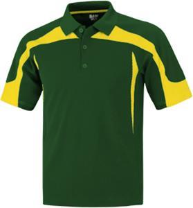 E33989 baw men 39 s short sleeve eagle cool tek polo shirts for Soccer coach polo shirt