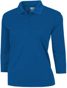 3/4 sleeve polo shirts