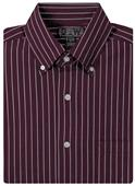 Baw Men's LS Hi-Density Gingham Woven Shirts