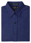 Baw Ladies LS Mini Plaid Gingham Woven Shirts