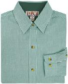 Baw Ladies LS Classic Stripe Gingham Woven Shirts