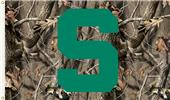 COLLEGIATE Michigan St. Realtree Camo 3' x 5' Flag