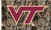 COLLEGIATE Virginia Tech Realtree Camo Flag