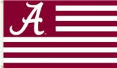 COLLEGIATE Alabama Stripes 3' x 5' Flag