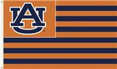 COLLEGIATE Auburn Stripes 3' x 5' Flag
