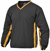 Baw Adult Two Stripe Pullover Outerwear Jackets