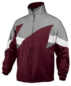 MAROON/SILVER/WHITE