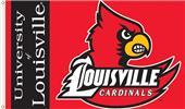 COLLEGIATE Louisville Cardinals 3' x 5' Flag
