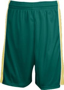 DK GREEN/VARSITY GOLD STRIPE/WHITE PIPING
