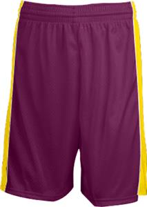 MAROON/GOLD STRIPE/WHITE PIPING