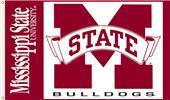 COLLEGIATE Mississippi State Bulldogs 3' x 5' Flag