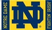 "COLLEGIATE Notre Dame ""ND"" 3' x 5' Flag"
