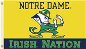 COLLEGIATE Notre Dame Irish Nation 3' x 5' Flag
