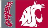 COLLEGIATE Washington State Cougars 3' x 5' Flag
