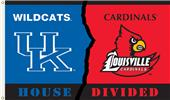 COLLEGIATE Kentucky-Louisville House Divided Flag