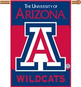 "COLLEGIATE Arizona 2-Sided 28"" x 40"" Banner"