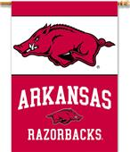 "COLLEGIATE Arkansas 2-Sided 28"" x 40"" Banner"