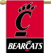 "COLLEGIATE Cincinnati 2-Sided 28"" x 40"" Banner"