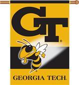 "COLLEGIATE Georgia Tech 2-Sided 28"" x 40"" Banner"
