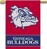 "COLLEGIATE Gonzaga 2-Sided 28"" x 40"" Banner"