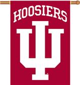 "COLLEGIATE Indiana 2-Sided 28"" x 40"" Banner"