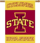 "COLLEGIATE Iowa State 2-Sided 28"" x 40"" Banner"