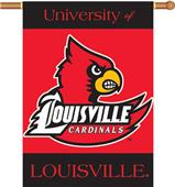 "COLLEGIATE Louisville 2-Sided 28"" x 40"" Banner"