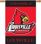 "COLLEGIATE Louisville 2-Sided 28"" x 40"" Banner"