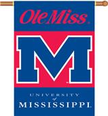 "COLLEGIATE Mississippi 2-Sided 28"" x 40"" Banner"