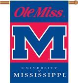 "COLLEGIATE Mississippi 2-Sided 28"" x 40"" Banner"