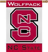 """COLLEGIATE N. Carolina St 2-Sided 28"""" x 40"""" Banner"""