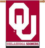 "COLLEGIATE Oklahoma 2-Sided 28"" x 40"" Banner"