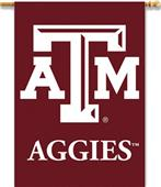 "COLLEGIATE Texas A&M 2-Sided 28"" x 40"" Banner"