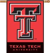 "COLLEGIATE Texas Tech 2-Sided 28"" x 40"" Banner"