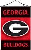 COLLEGIATE Georgia Indoor Banner Scroll