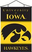 COLLEGIATE Iowa Indoor Banner Scroll