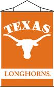 COLLEGIATE Texas Indoor Banner Scroll
