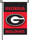 "COLLEGIATE Georgia 2-Sided 13"" x 18"" Garden Flag"