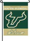"COLLEGIATE South Florida 13"" x 18"" Garden Flag"