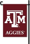 "COLLEGIATE Texas A&M 2-Sided 13"" x 18"" Garden Flag"