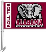 "COLLEGIATE Alabama 2-Sided 11"" x 18"" Car Flag"