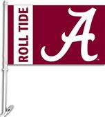 "COLLEGIATE Alabama ""A"" 2-Sided 11"" x 18"" Car Flag"