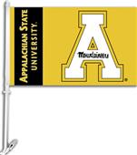 "COLLEGIATE Appalachian State 11"" x 18"" Car Flag"