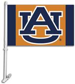 "COLLEGIATE Auburn ""AU"" Orange 11"" x 18"" Car Flag"