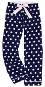 Boxercraft Girl's Spotted V.I.P. Flannel Pants