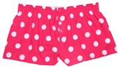 Boxercraft Girl's Spot Flannel Bitty Boxer Shorts
