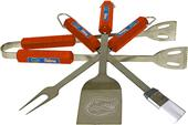 COLLEGIATE Florida 4 Piece BBQ Set