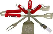 COLLEGIATE Louisville 4 Piece BBQ Set
