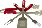 COLLEGIATE N. Carolina State 4 Piece BBQ Set