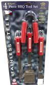 Collegiate Ohio State 4-Piece BBQ Set